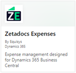 Zetadocs for Microsoft Dynamics 365 Business Central