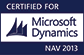 MS Dynamics Certified For NAV2013
